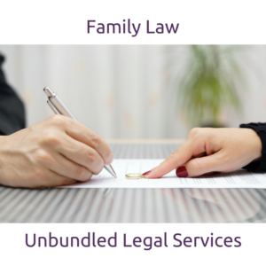 Unbundled Family Law Services